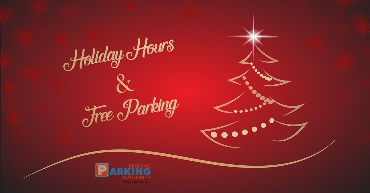 Holiday Hours & Free Parking